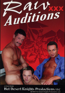 Raw XXX Auditions DVD