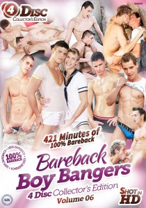 Bareback Boy Bangers Collector's Edition Volume 6 DVD