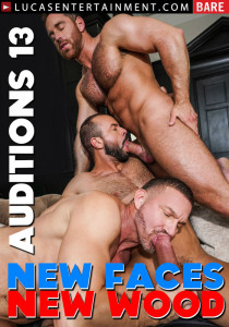 Bareback Auditions #13 - New Faces, New Wood DVD