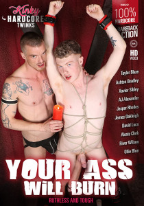 Your Ass Will Burn DVD